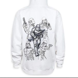 Disney Zip Hoodie- Big Kids Stormtrooper/Star Wars
